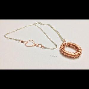 4 & 18 AWG Copper & Silver Chain Handmade